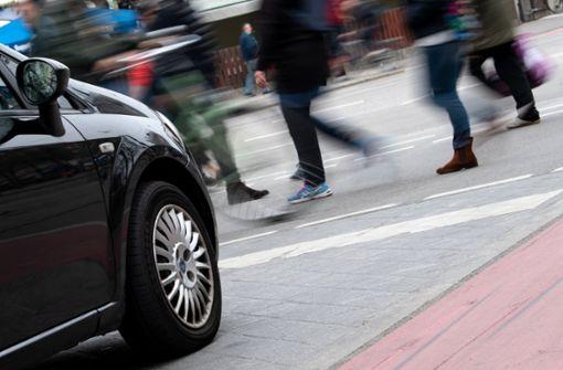 Fußgänger sind im Straßenverkehr besonders gefährdet
