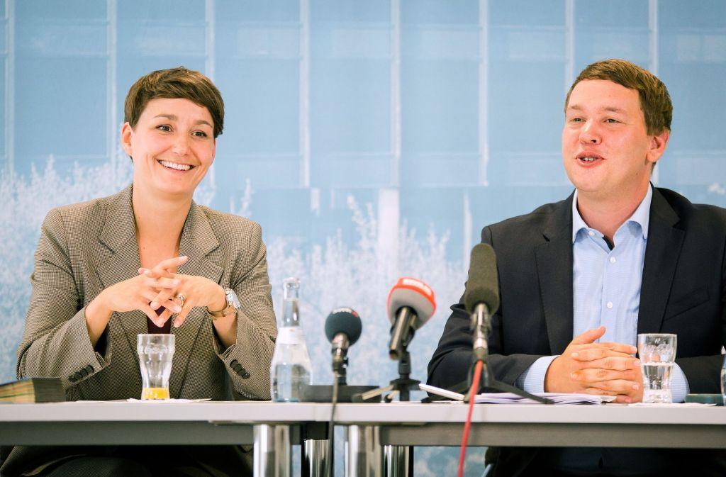 Sandra Detzer und Oliver Hildenbrand können den Wahlen zuversichtlich entgegen sehen. Es gibt bisher keine Gegenkandidaten. Foto: dpa