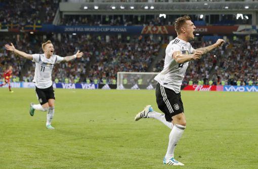 Die emotionalsten WM-Tore Deutschlands