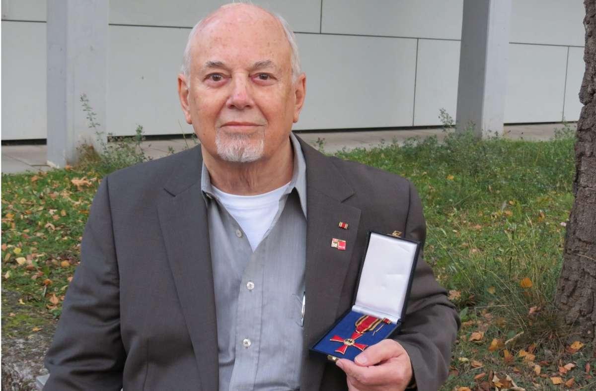 Für sein Engagement wurde Kupsch unter anderem mit dem Bundesverdienstkreuz ausgezeichnet. Foto: /Bernd Zeyer