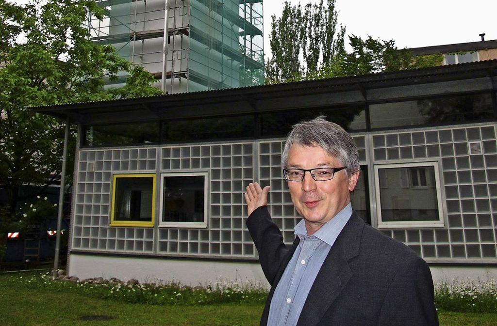 Pfarrer Karl Böck verlässt im Sommer das Neckarknie. Foto: Iris Frey