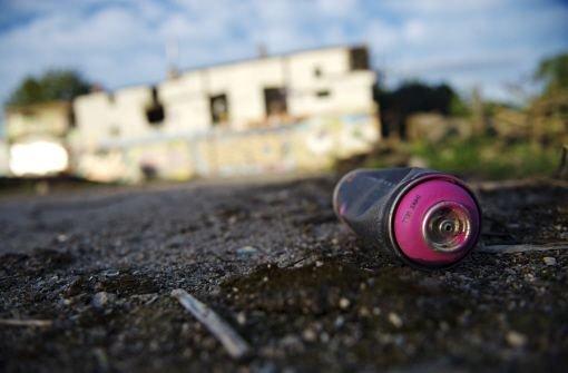 In Hamburg ist der berühmte Sprayer OZ ums Leben gekommen. Foto: dpa (Symbolbild)