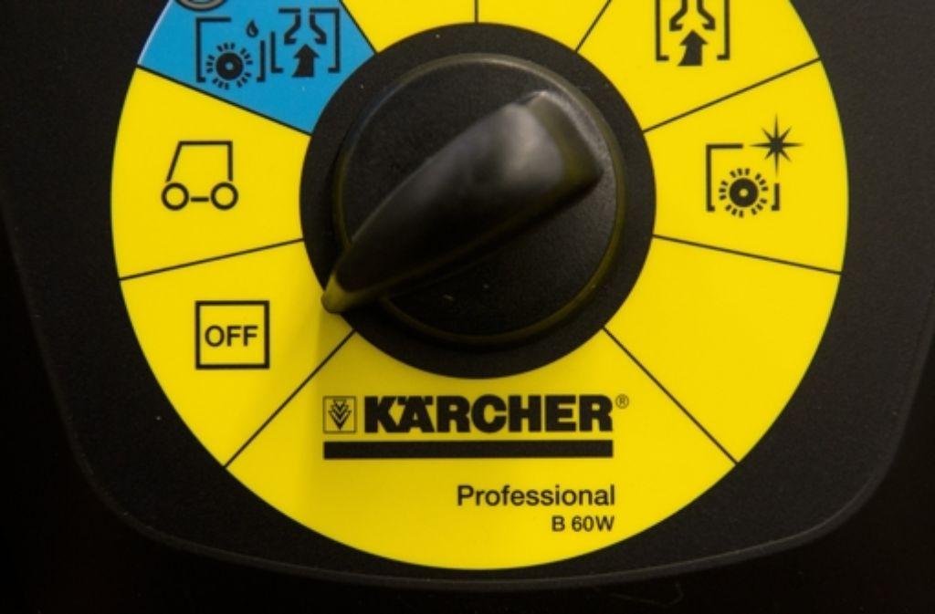 Das Winnender Unternehmen Kärcher steigerte 2014 seine Erlöse. Foto: dpa