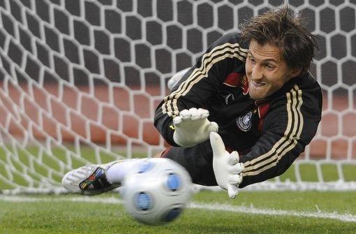HSV-Torwart René Adler wurde wieder für die deutsche Nationalmannschaft nominiert. Foto: dpa