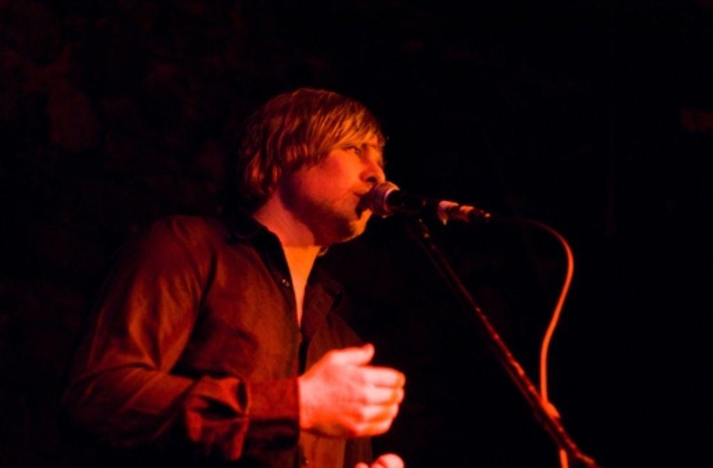 Seine Stimme ist sein Kapital: Poetry-Slammer Hanz. Foto: Dressler