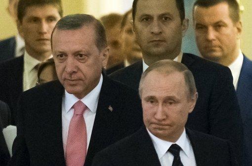 Türkei will mit Russland gegen den IS kämpfen