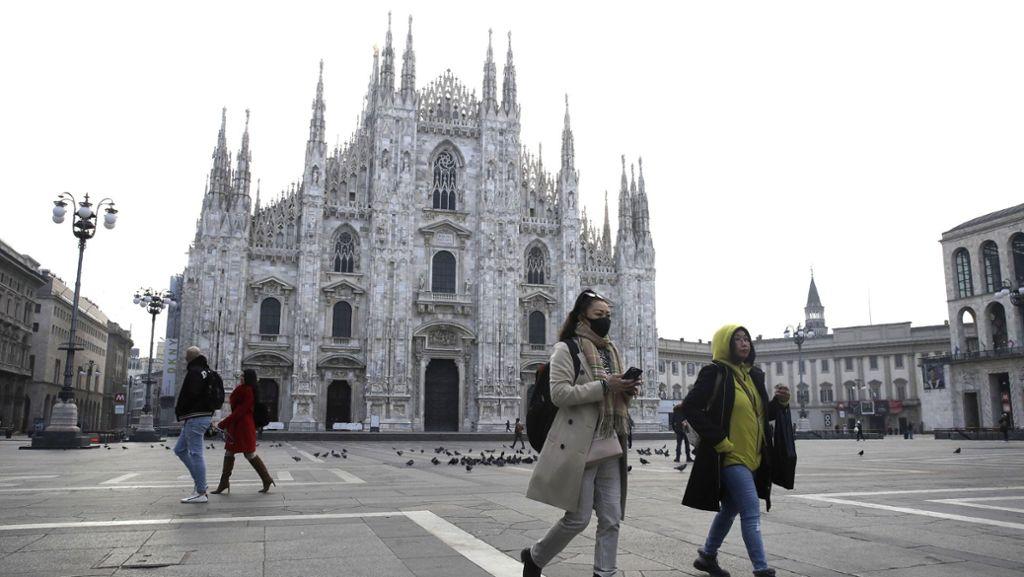 Italienische Städte als neues Wuhan