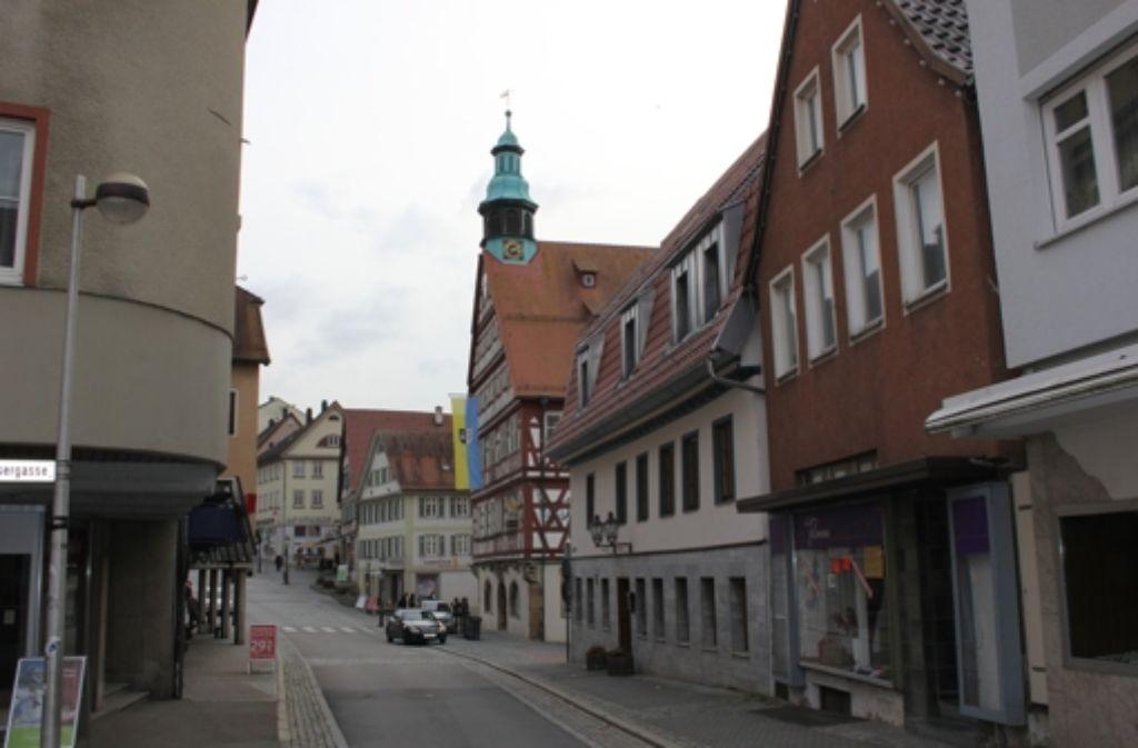 Der Beschuldigte spuckte unter anderem eine Radfahrerin in der Altstadt an. Foto: Pascal Thiel