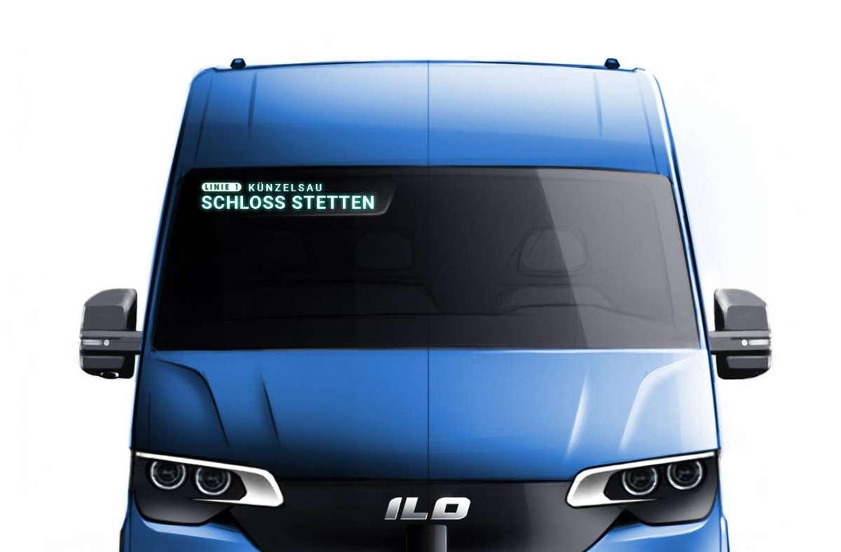 Sol soll der autonom fahrende Künzelsauer Bürgerbus aussehen. Foto: Stadt Künzelsau