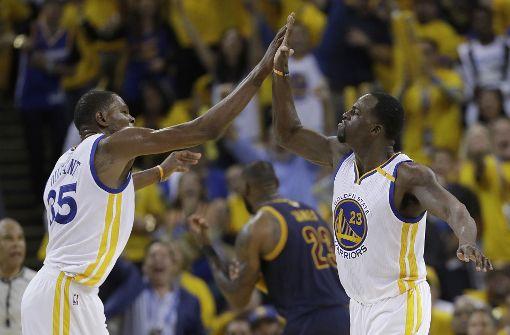 Golden State startet mit Sieg in NBA-Final