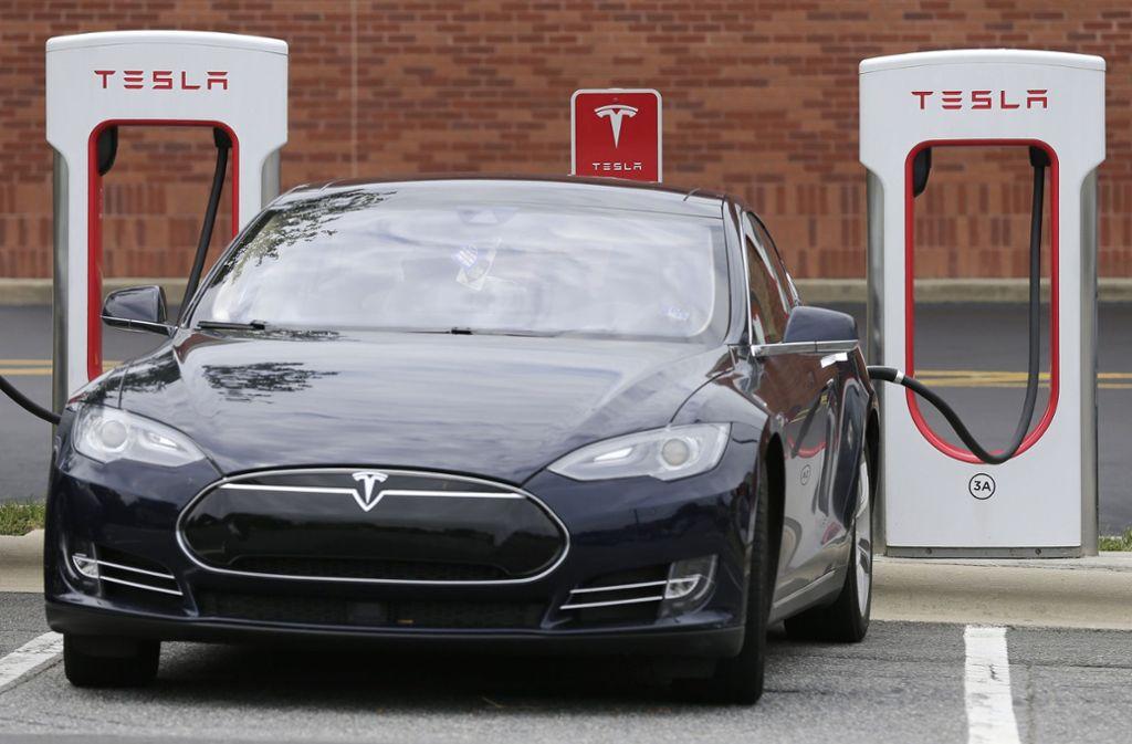 Das Model 3 des US-Autoherstellers Tesla war im vorigen Jahr weltweit gefragt. Foto: AP