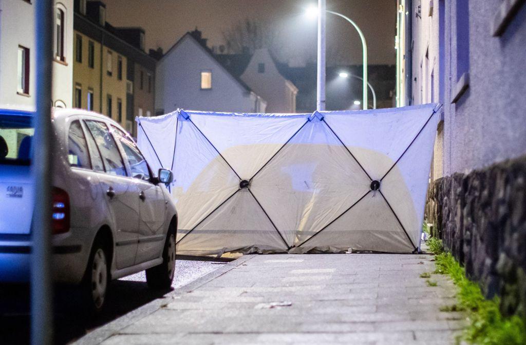 In Bochum wurde ein Mann bei einem Polizeieinsatz erschossen. Foto: dpa