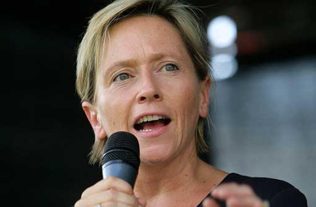 Schulbürgermeisterin Susanne Eisenmann Foto: Zweygarth