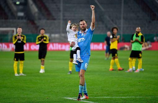 Kevin Großkreutz feiert sein Wiedersehen mit dem BVB