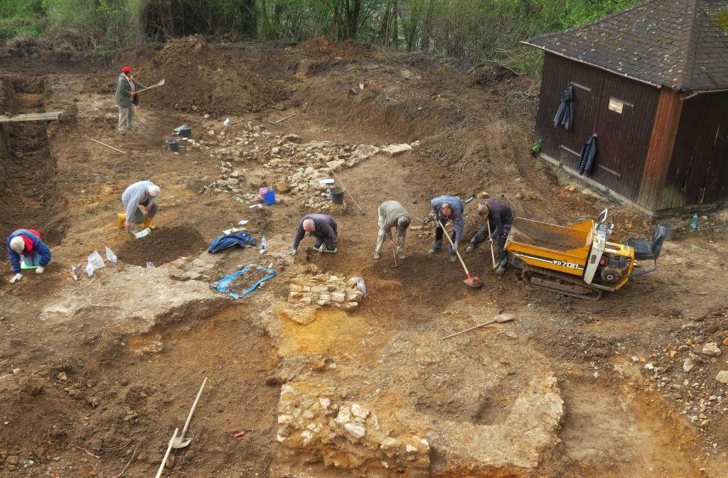Seit März 2016 leitet Andreas Thiel  auf der Altenburg die umfangreichen archäologischen Ausgrabungen. Foto: Feigel