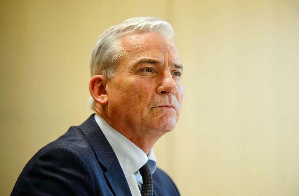 Baden-Württembergs Innenminister Thomas Strobl (CDU) kann keine eigenen Fehler erkennen. Foto: dpa