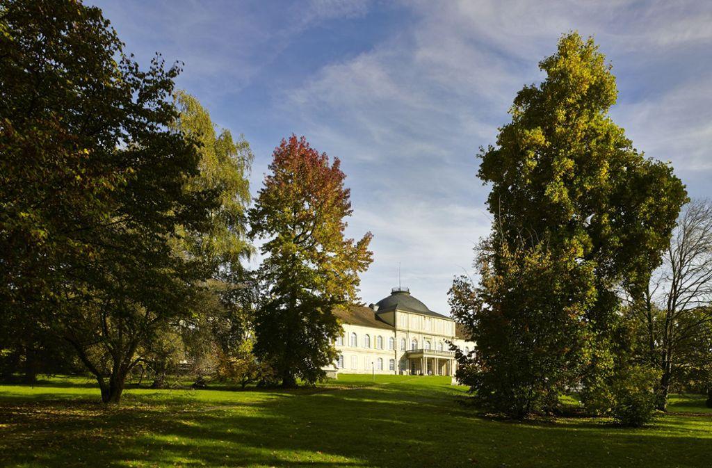 Das Schloss Hohenheim in der Herbstsonne. Foto: Universität Hohenheim / Victor S. Brigola/Victor S. Brigola