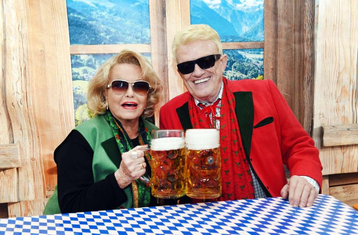 Heino mit seiner Frau Hannelore (Archivbild) Foto: dpa/Horst Ossinger