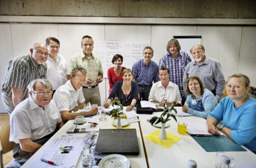 Die Aktionsgemeinschaft Espan Foto: Heinz Heiss
