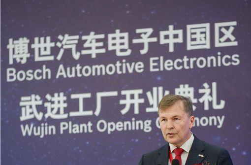 Bosch eröffnet neues Elektronikwerk in China
