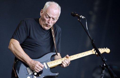 Ein Meistergitarrist: David Gilmour, hier bei einem Konzert 2006 in Dortmund Foto: dpa