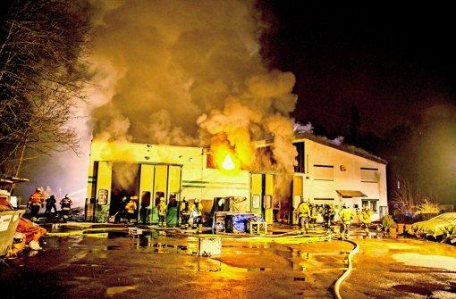 Brand in Lagerhalle: 18-Jähriger verurteilt