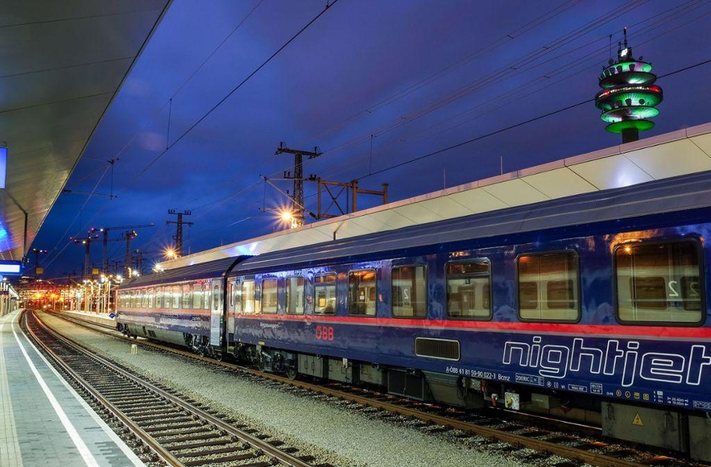 Auch in Deutschland für die ÖBB offenbar lukrativ: die Nightjet-Nachtzüge Foto: ÖBB