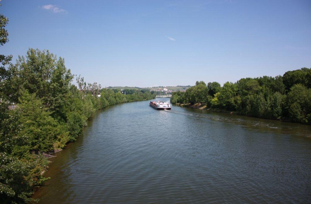 Ob auf dem Neckar außer Lastschiffen irgendwann auch eine Fähre fahren könnte? Die Vision hat auf alle Fälle Charme. Foto: Annina Baur