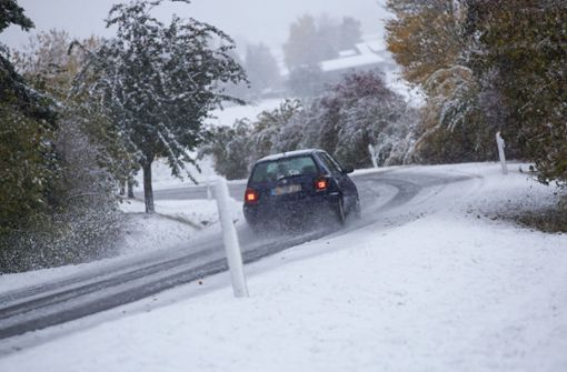 Wie lange bleibt der erste Schnee?