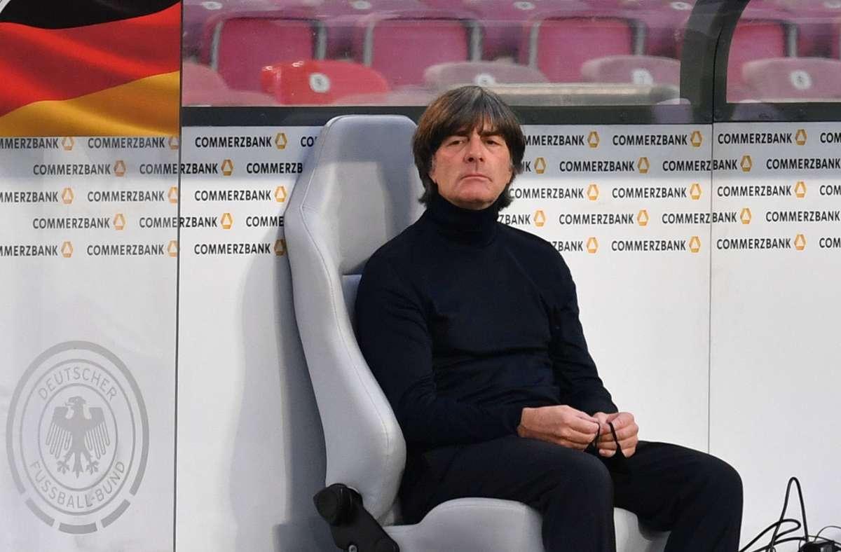 Sitzt weiter auf dem Trainerstuhl des DFB: Joachim Löw. Foto: imago images/Sven Simon