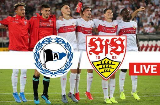 VfB jubelt spät in Bielefeld