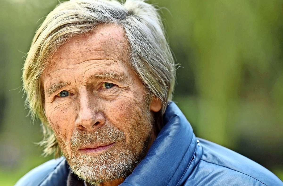 Der Schauspieler Horst Janson ist immer noch beruflich aktiv – Anfang 2021 wird er  in Düsseldorf wieder auf der Bühne stehen. Foto: dpa/Horst Ossinger