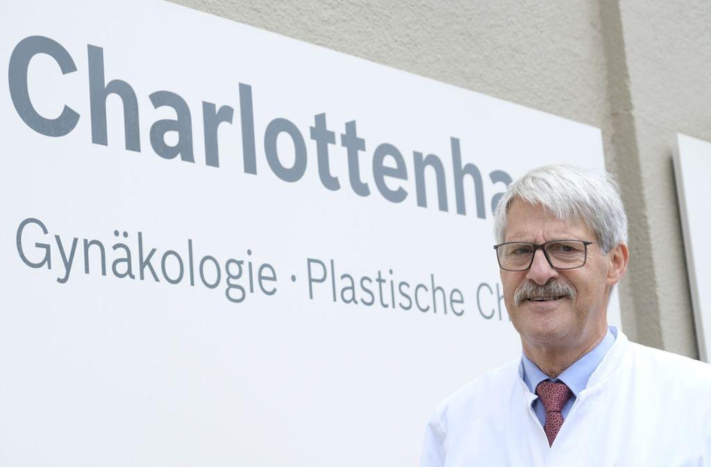 Belegarzt Götz Wurster hat das Charlottenhaus verlassen. Foto: Lichtgut/Michael Latz