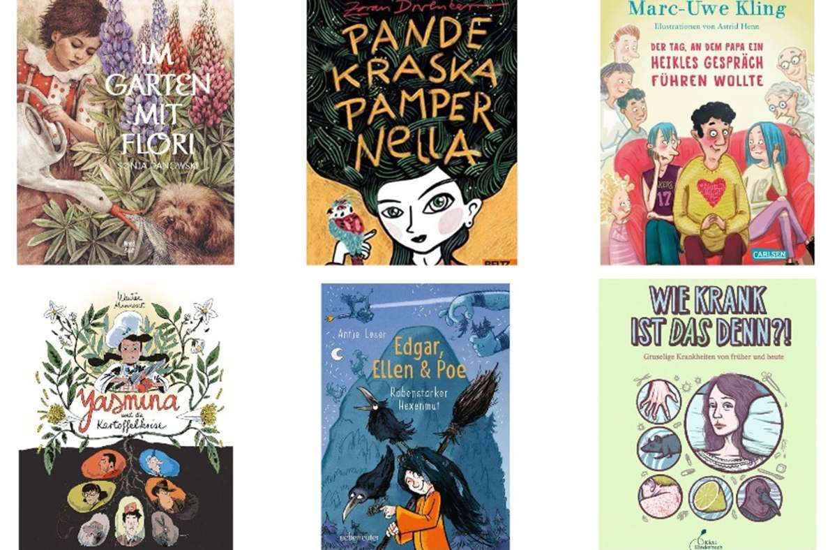 Es gibt so viele tolle, neue Kinderbücher. Unsere liebsten Neuerscheinungen sehen sie in der Bildergalerie. Foto: Verlage