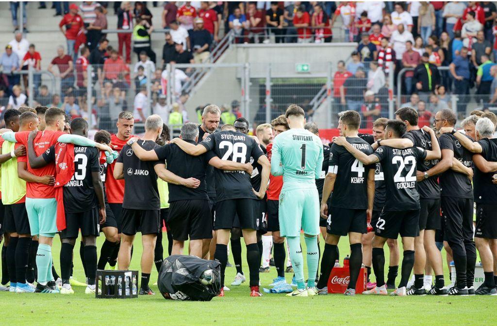 In der Tabelle steht der VfB aktuell oben. In anderen Bereichen setzte der Club Bestmarken, die womöglich noch lange Bestand haben. Foto: Pressefoto Baumann/Hansjürgen Britsch