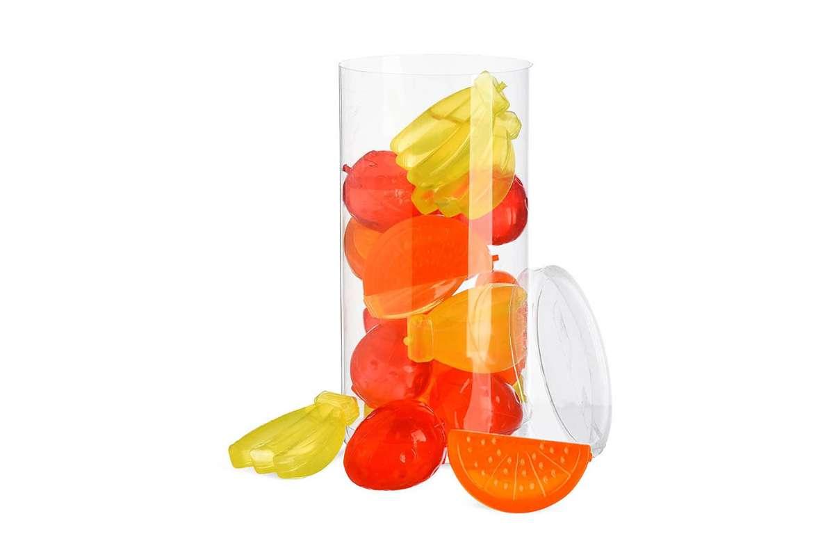 "Wegen möglicher Erstickungsgefahr ruft Depot das Eiswürfel-Set ""Fruits"" zurück. Foto: DEPOT/DEPOT"