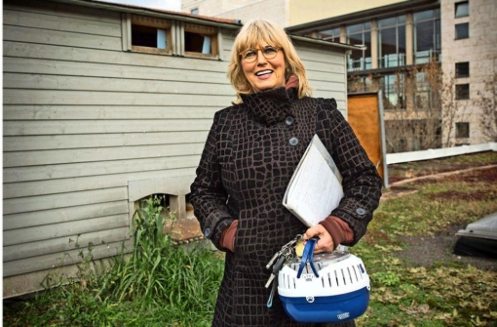 Ein Herz für Vögel: Silvie Brucklacher-Gunzenhäußer wurde für ihr Engagement mit der Ehrenmedaille der Stadt Stuttgart ausgezeichnet. Foto: Achim Zweygarth