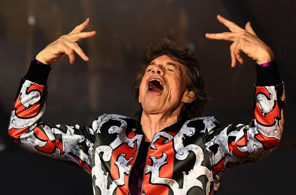 Mick Jagger darf vorerst nicht mehr auf die Bühne. Foto: AFP