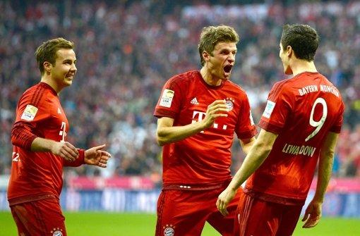 FC Bayern verputzt den BVB