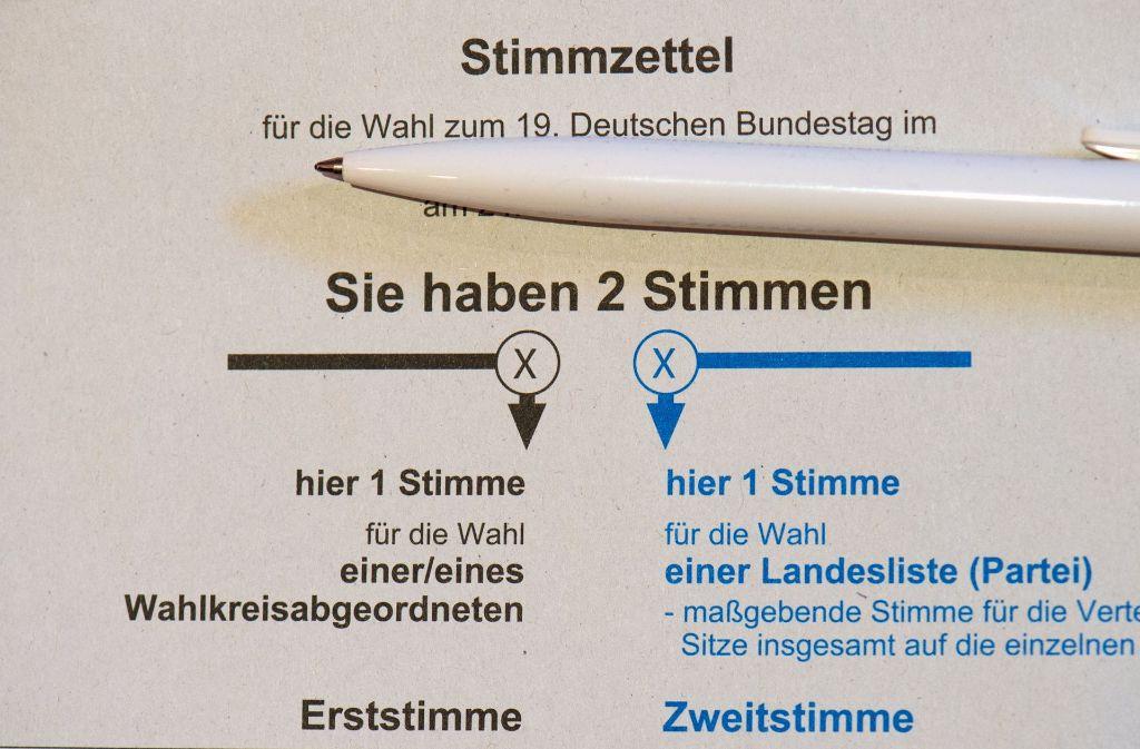 Gibt es die Bundestagswahl künftig alle fünf Jahre? (Symbolbild) Foto: dpa