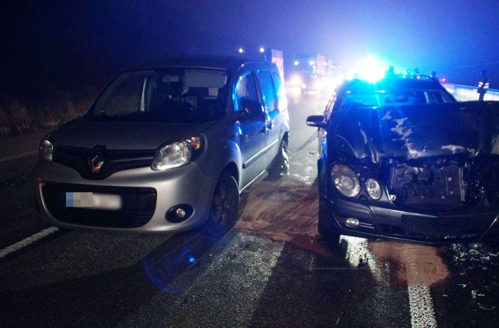 Der Unfall ereignete sich auf der A8 bei Remchingen. Foto: SDMG/Gress