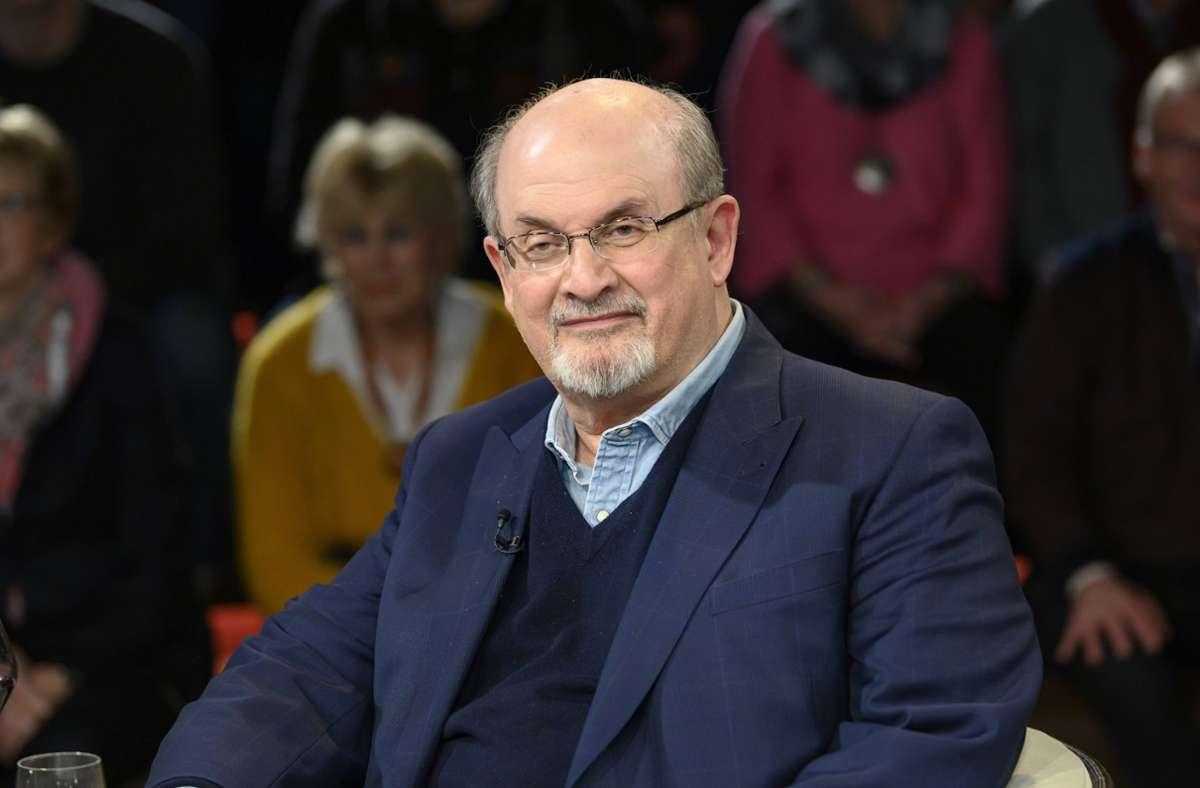 Der Schriftsteller Salman Rushdie Foto: imago images
