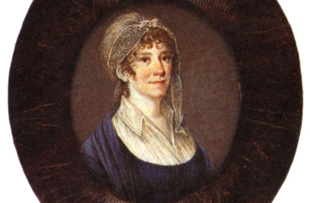 """Unter der """"frauenzimmerlichen Redaktion"""" von Therese Huber (1764-1829) öffnete sich das Stuttgarter """"Morgenblatt für gebildete Stände"""" der großen Themenvielfalt, für die es schließlich berühmt wurde. Foto: StZ"""