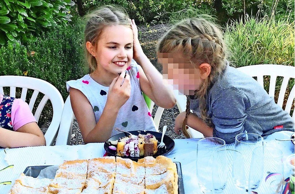 Vor wenigen Tagen feierte Lara ihren neunten Geburtstag – mit ihrem Vater, Freundinnen  und Bekannten, aber ohne ihre Mutter. Foto: privat