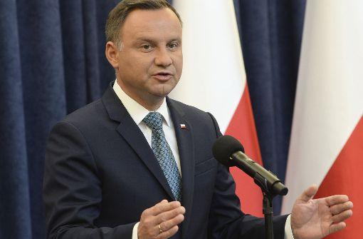 Polens Präsident spricht ein Machtwort
