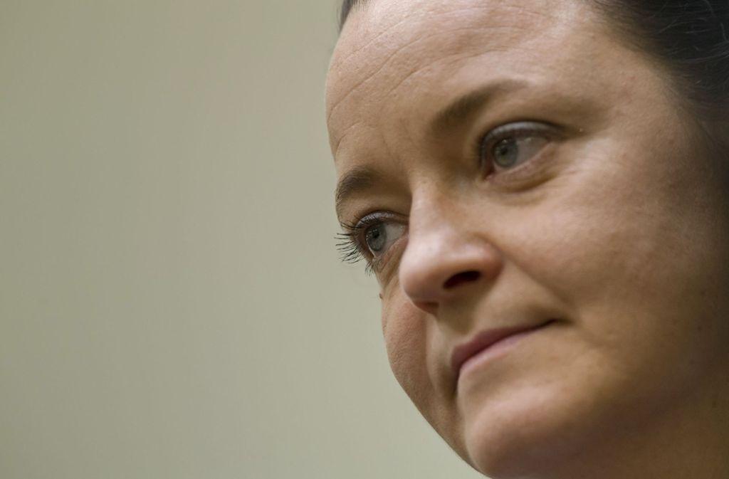 Die Hauptangeklagte Beate Zschäpe hat am letzten Prozesstag gesprochen. Foto: Pool dpa