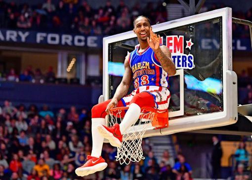 Harlem Globetrotters - grandios mit Basketball