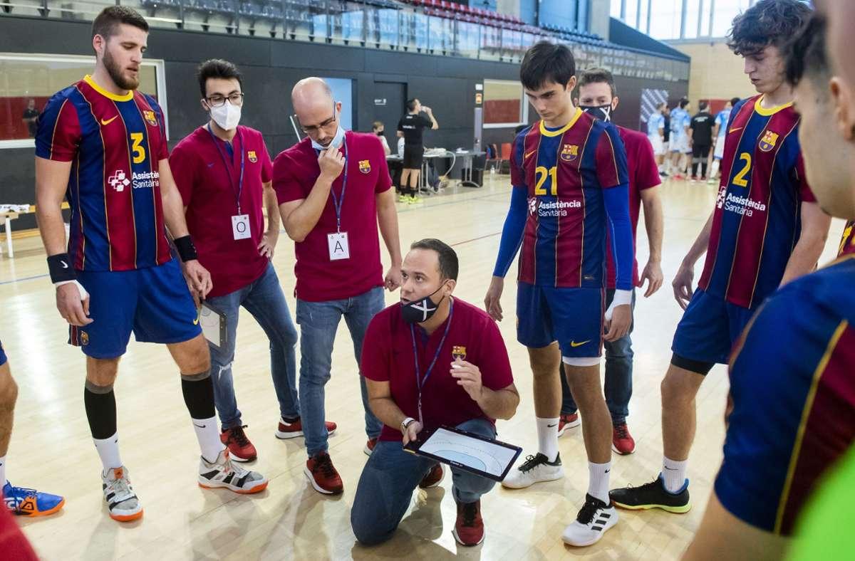 Vier Jahre lang arbeitete Roi Sanchez für die Handballer des FC Barcelona. Foto: FC Barcelona//Victor Salgado