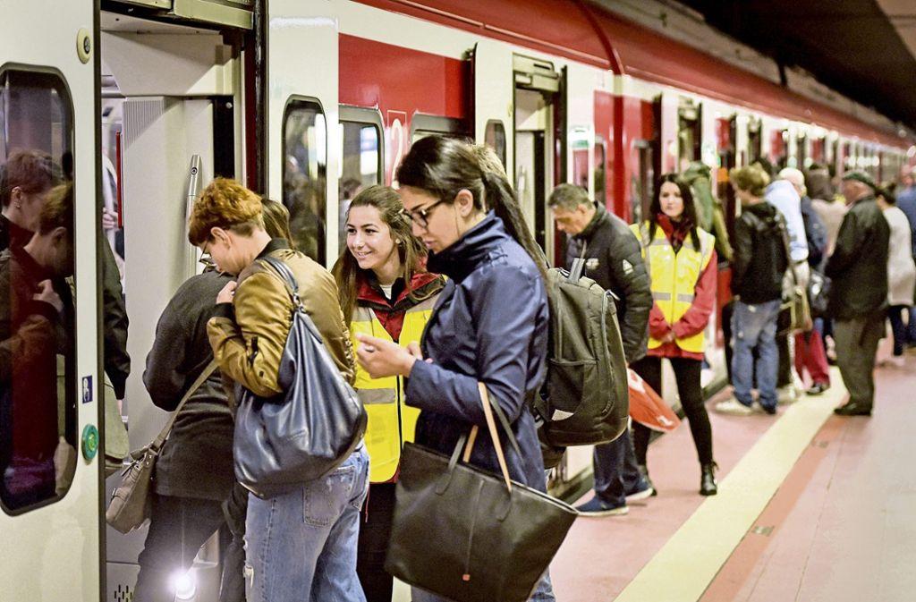 Die Zahl der VVS-Fahrgäste steigt weiter an. Foto: Lichtgut/Max Kovalenko