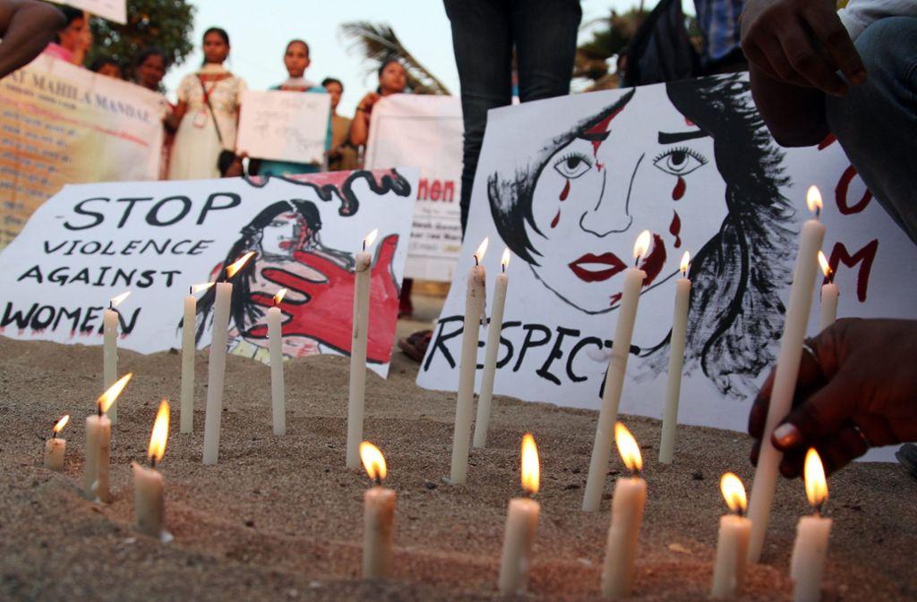 Gewalt gegen Frauen ist in Indien weit verbreitet. (Symbolbild) Foto: EPA